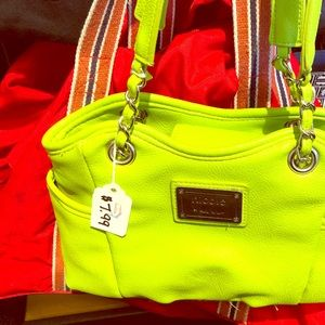 Nicole Lee kind green purse